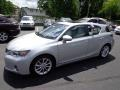 Lexus CT 200h Hybrid Premium Tungsten Silver Pearl photo #8