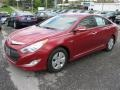 Hyundai Sonata Hybrid Venetian Red photo #2