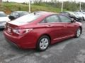 Hyundai Sonata Hybrid Venetian Red photo #6