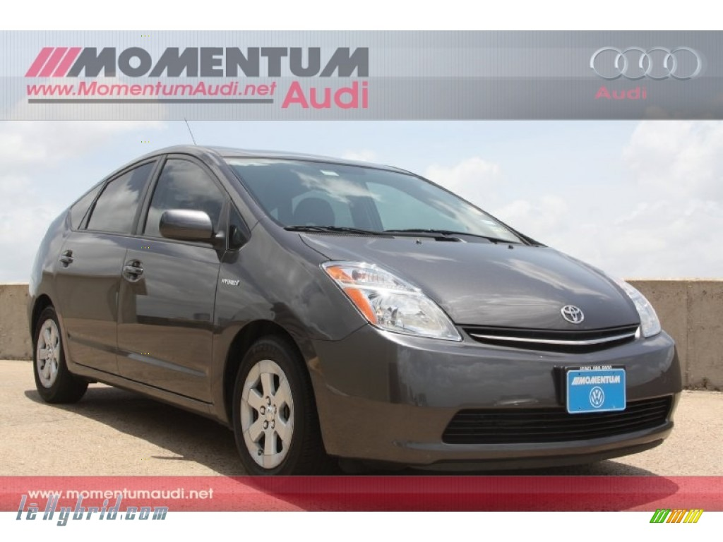 2009 Prius Hybrid - Magnetic Gray Metallic / Dark Gray photo #1