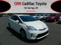 Toyota Prius 3rd Gen Two Hybrid Blizzard White Pearl photo #1