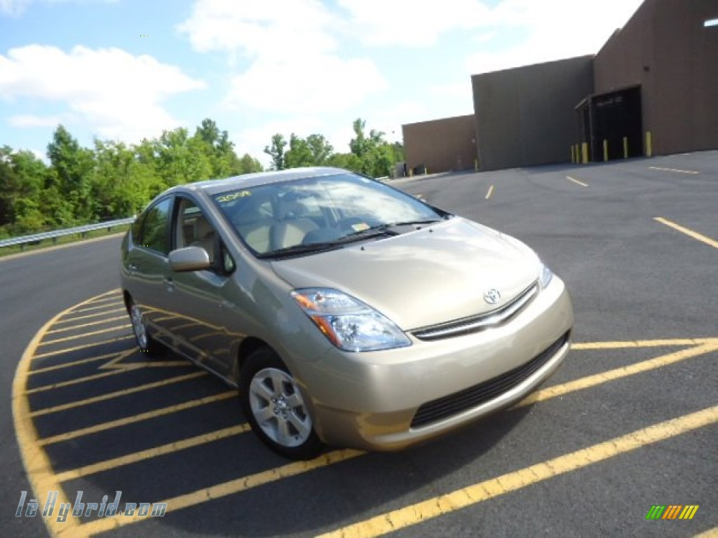 2008 Prius Hybrid - Driftwood Pearl / Bisque photo #1