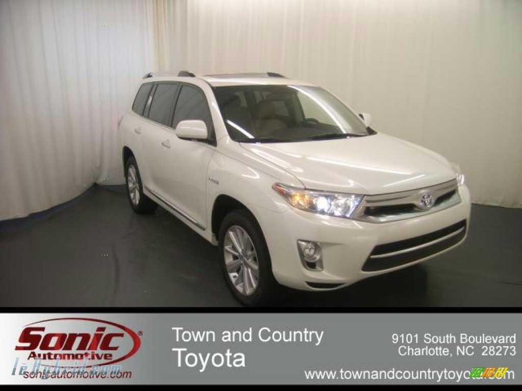 2012 toyota highlander hybrid limited 4wd in blizzard white pearl photo 12 009004 lehybrid. Black Bedroom Furniture Sets. Home Design Ideas