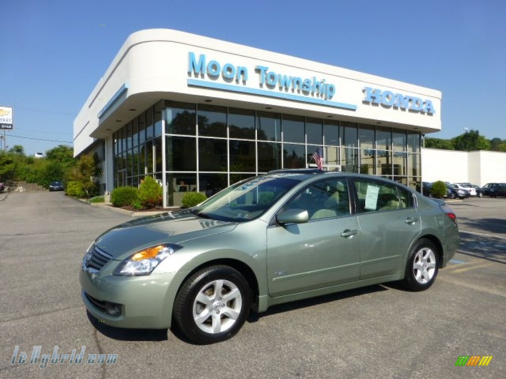 2007 Nissan Altima Hybrid In Metallic Jade 211697