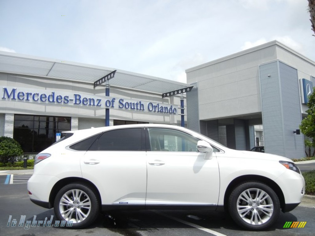 2010 lexus rx 450h hybrid in starfire white pearl 000986 hybrid cars gasoline. Black Bedroom Furniture Sets. Home Design Ideas