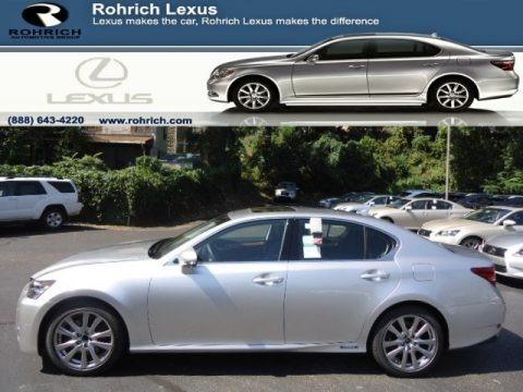 Liquid Platinum 2013 Lexus GS 450h Hybrid