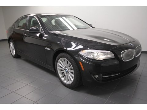 Black Sapphire Metallic 2013 BMW 5 Series ActiveHybrid 5