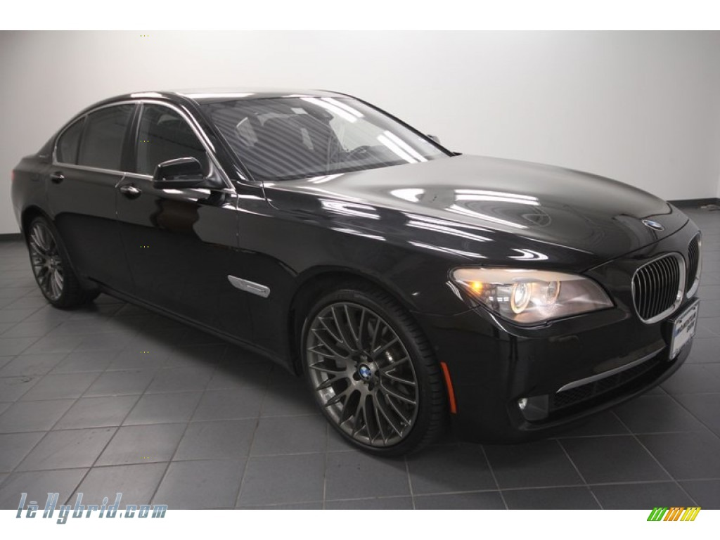2011 bmw 7 series activehybrid 750i sedan in black. Black Bedroom Furniture Sets. Home Design Ideas