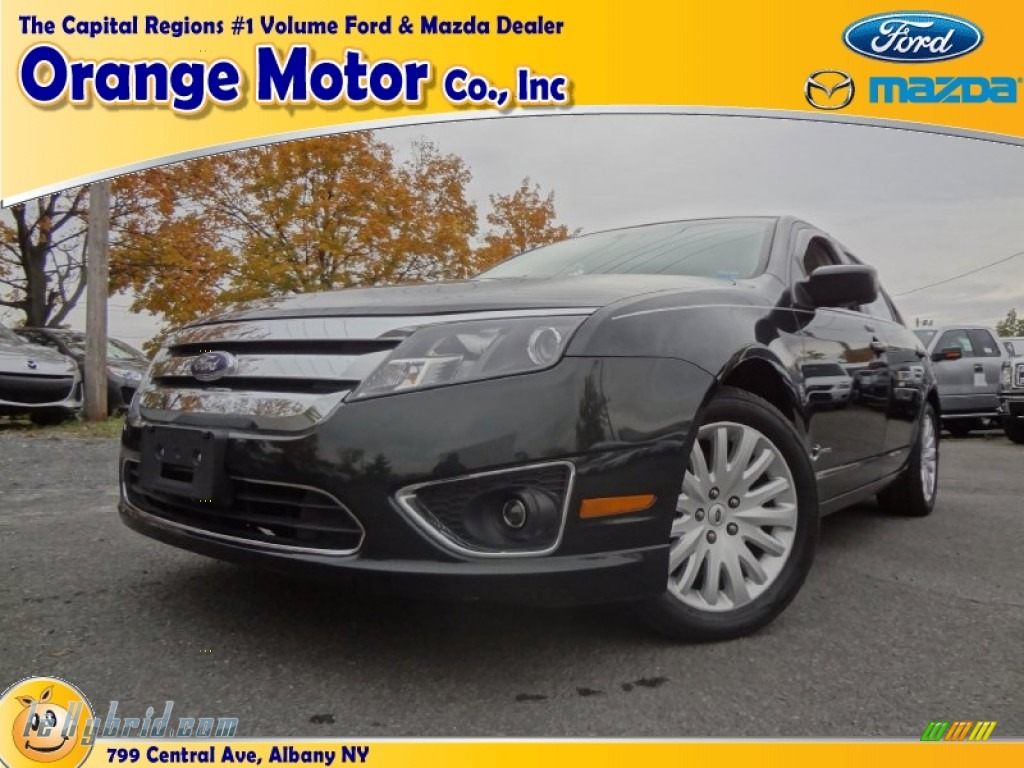 2010 ford fusion hybrid in atlantis green metallic photo for Orange motors albany new york