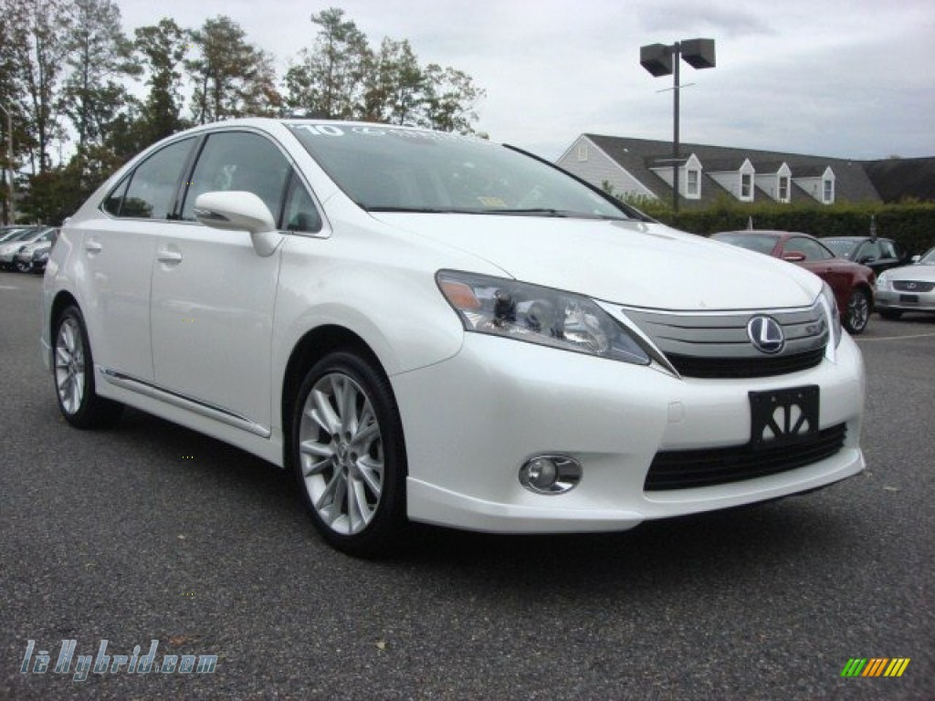 2010 lexus hs 250h hybrid premium in starfire white pearl 036295 hybrid cars. Black Bedroom Furniture Sets. Home Design Ideas