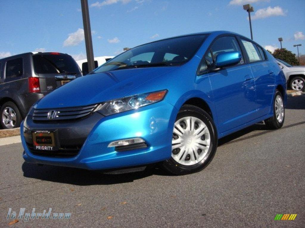 2010 Honda Insight Hybrid Lx In Clear Sky Blue Metallic 034249 Lehybrid Com Hybrid Cars