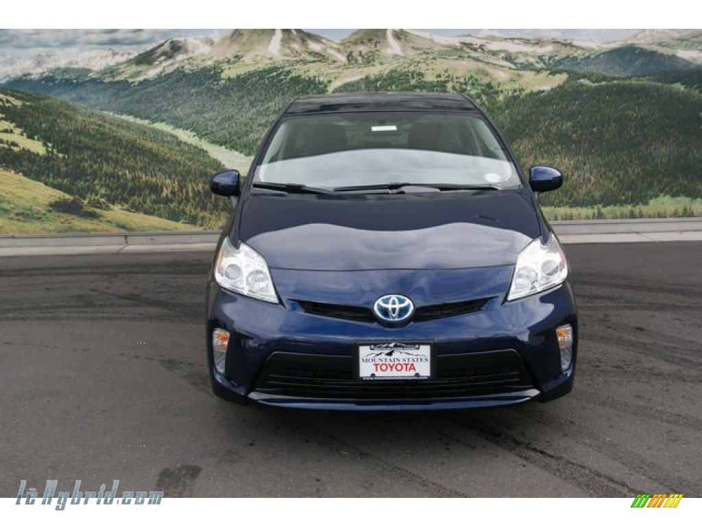 2013 Toyota Prius Three Hybrid In Nautical Blue Metallic
