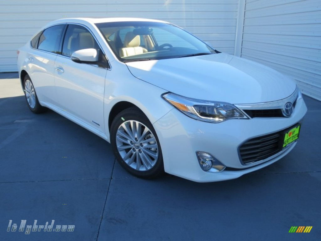 2013 toyota avalon hybrid limited in blizzard white pearl photo 16 001432. Black Bedroom Furniture Sets. Home Design Ideas