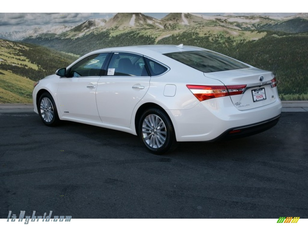 2013 toyota avalon hybrid limited in blizzard white pearl photo 3 001851. Black Bedroom Furniture Sets. Home Design Ideas