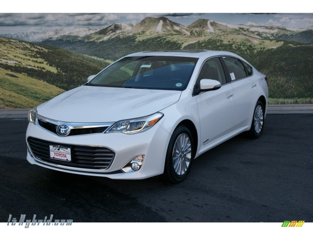 2013 toyota avalon hybrid limited in blizzard white pearl photo 4 001851. Black Bedroom Furniture Sets. Home Design Ideas