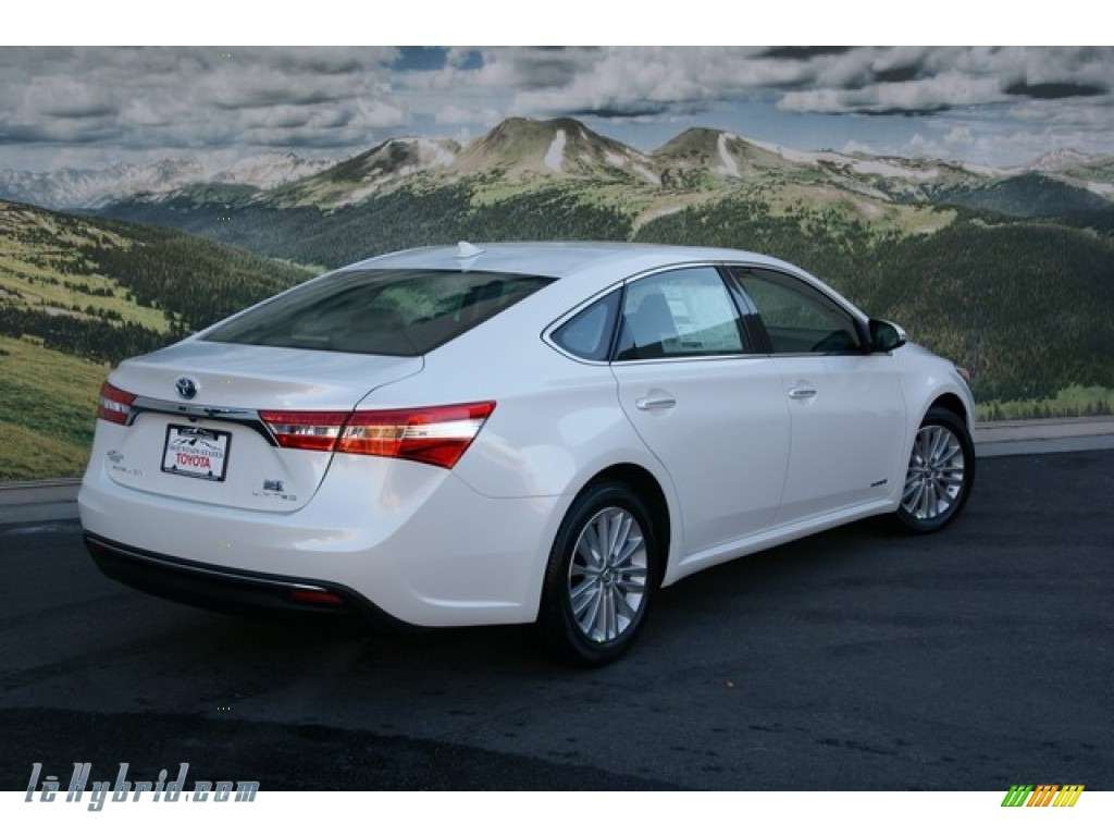 2013 toyota avalon hybrid limited in blizzard white pearl photo 5 001851. Black Bedroom Furniture Sets. Home Design Ideas