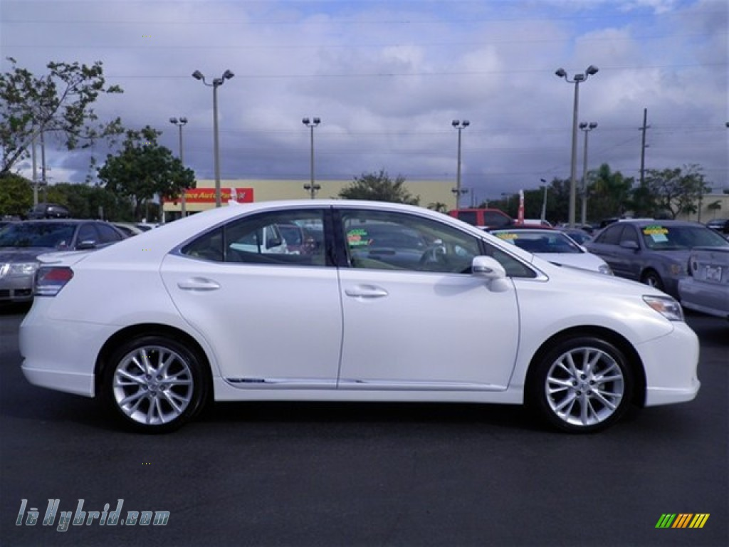 2010 lexus hs 250h hybrid premium in starfire white pearl photo 16 032165. Black Bedroom Furniture Sets. Home Design Ideas