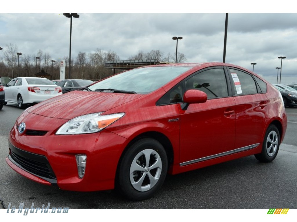 2013 toyota prius two hybrid in barcelona red metallic for Prius electric motor for sale