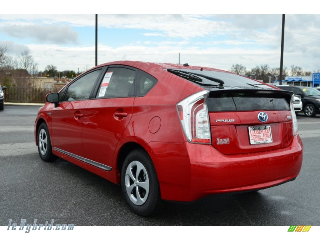 2013 toyota prius two hybrid in barcelona red metallic. Black Bedroom Furniture Sets. Home Design Ideas