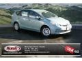 Toyota Prius v Two Hybrid Sea Glass Pearl photo #1
