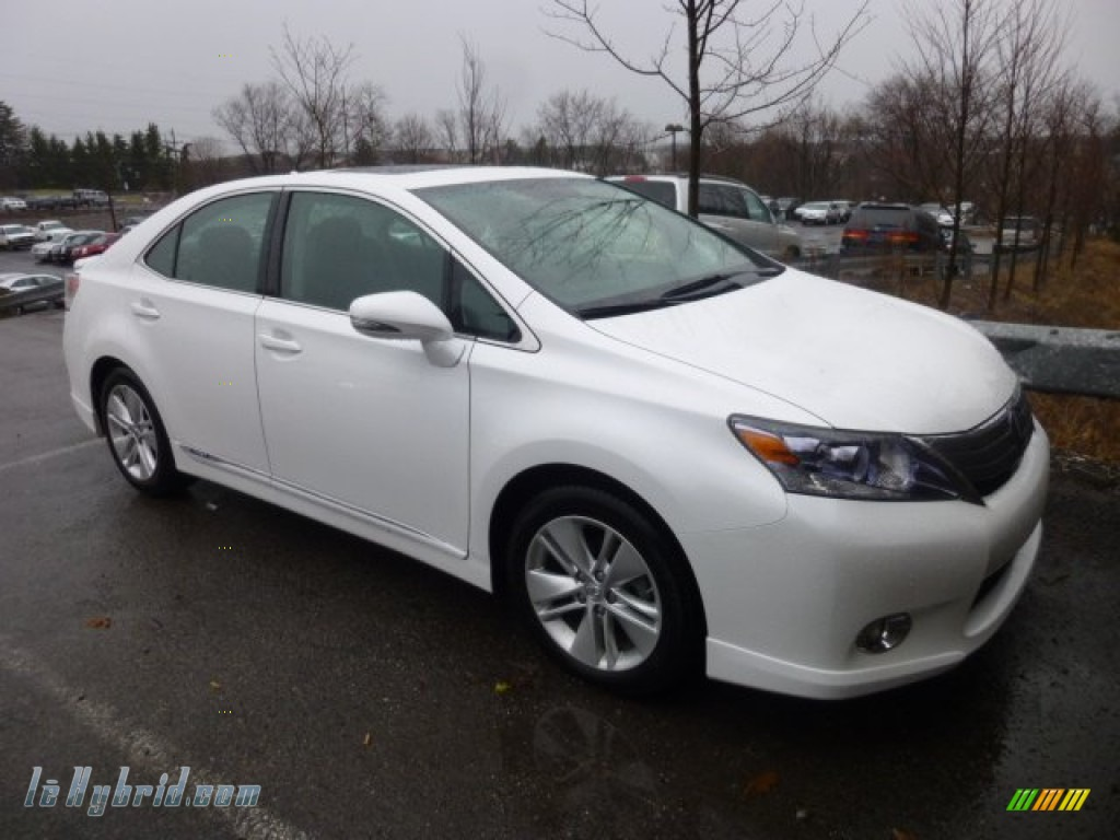 2010 lexus hs 250h hybrid premium in starfire white pearl 017565 hybrid cars. Black Bedroom Furniture Sets. Home Design Ideas