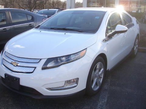 Summit White 2013 Chevrolet Volt