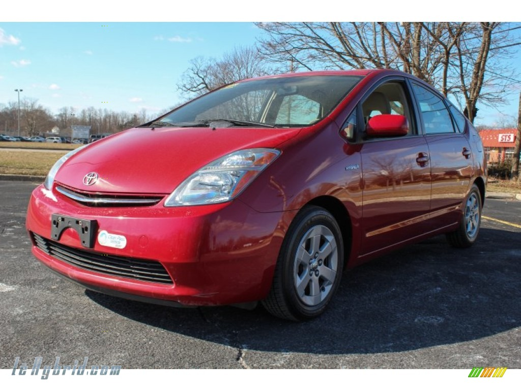 2007 toyota prius hybrid in barcelona red metallic for Prius electric motor for sale