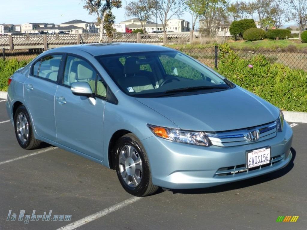 2012 honda civic hybrid l sedan in cool mist metallic for Cool honda civic