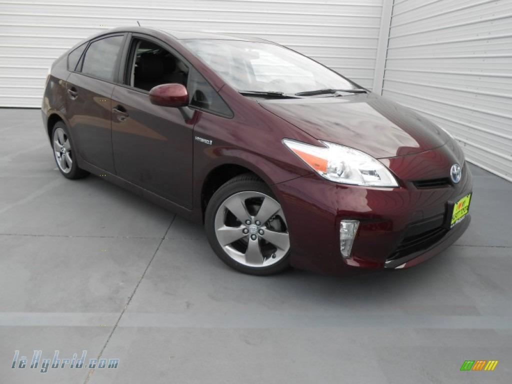 2013 Toyota Prius Persona Series Hybrid In Dark Cherry