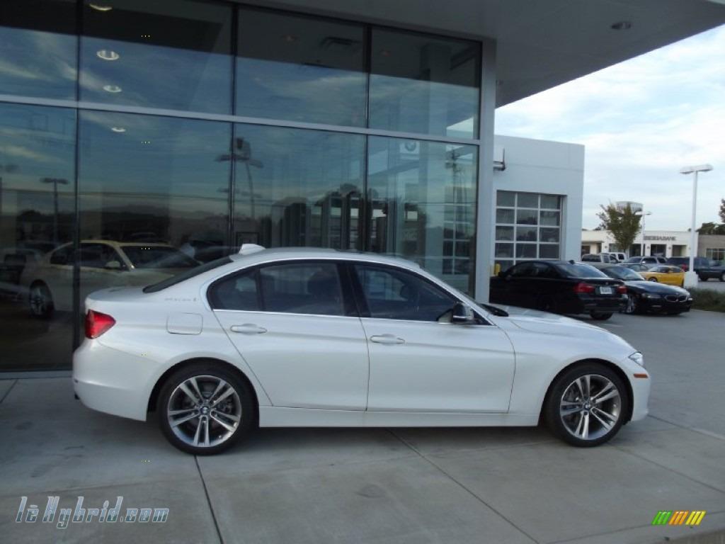 2013 BMW 3 Series ActiveHybrid 3 Sedan in Mineral White Metallic ...