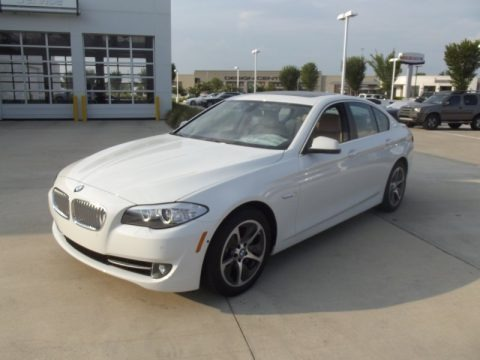Alpine White 2012 BMW 5 Series ActiveHybrid 5