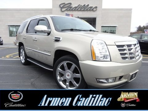 Gold Mist 2009 Cadillac Escalade Hybrid AWD