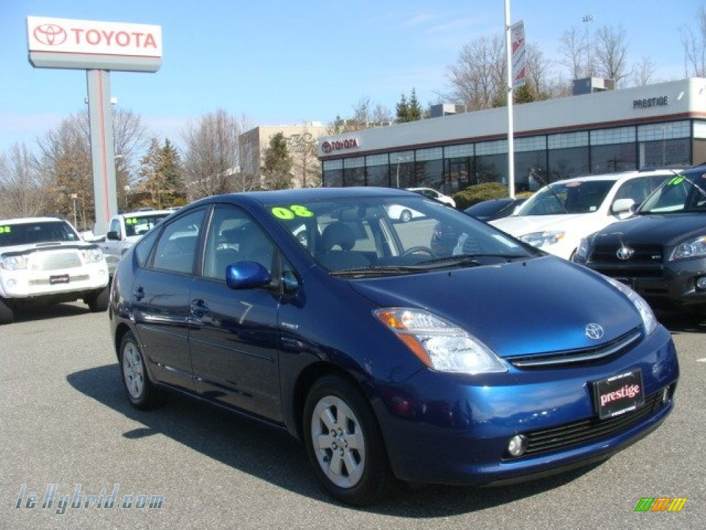 2008 toyota prius hybrid in spectra blue mica 760821 for Prius electric motor for sale