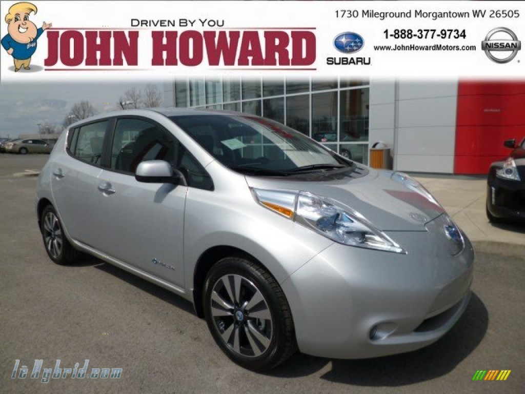 2013 nissan leaf sl in brilliant silver 406316 for 80kw ac synchronous electric motor