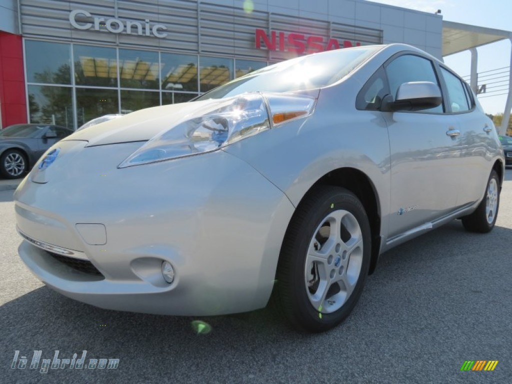 2013 nissan leaf sv in brilliant silver 406574 for 80kw ac synchronous electric motor