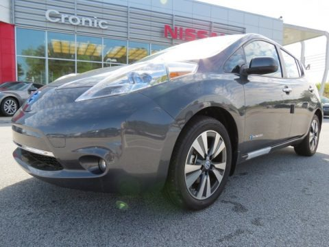 Metallic Slate 2013 Nissan LEAF SL