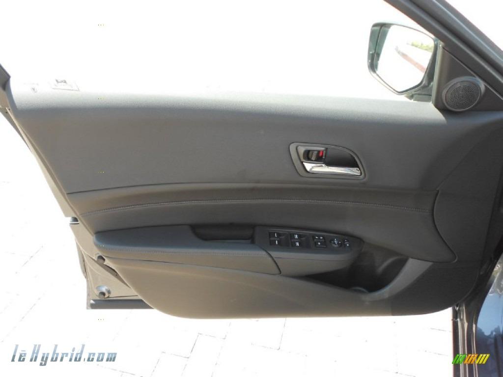 2013 ILX 1.5L Hybrid Technology - Crystal Black Pearl / Ebony photo #10