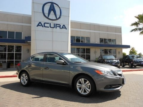Polished Metal Metallic 2013 Acura ILX 1.5L Hybrid Technology