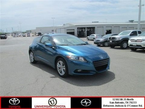 North Shore Blue Pearl 2011 Honda CR-Z EX Sport Hybrid