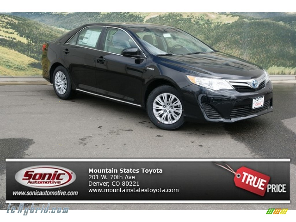 2014 toyota camry hybrid black viewing gallery