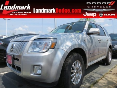 Brilliant Silver Metallic 2009 Mercury Mariner Hybrid
