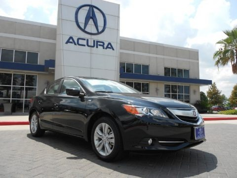 Crystal Black Pearl 2013 Acura ILX 1.5L Hybrid Technology