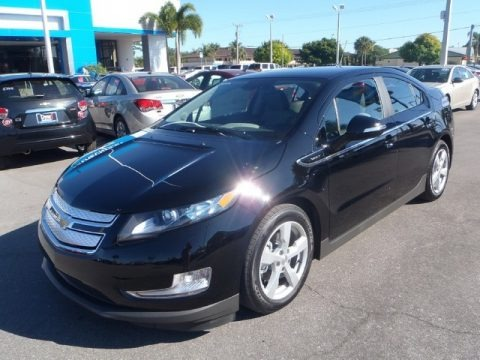 Black 2013 Chevrolet Volt