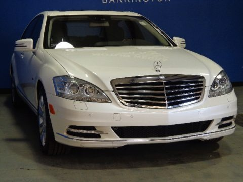 Diamond White Metallic 2010 Mercedes-Benz S 400 Hybrid Sedan