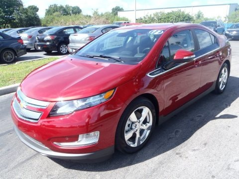 Crystal Red Tintcoat 2013 Chevrolet Volt