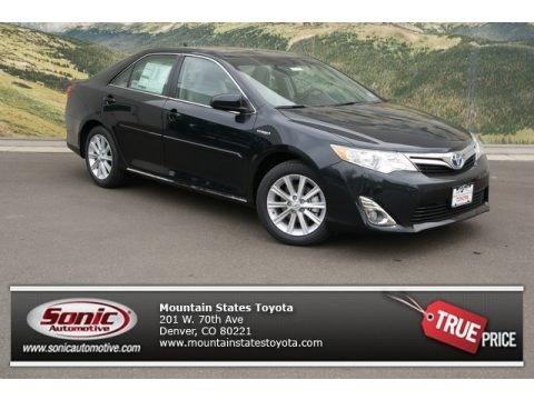 Cosmic Gray Metallic 2013 Toyota Camry Hybrid XLE