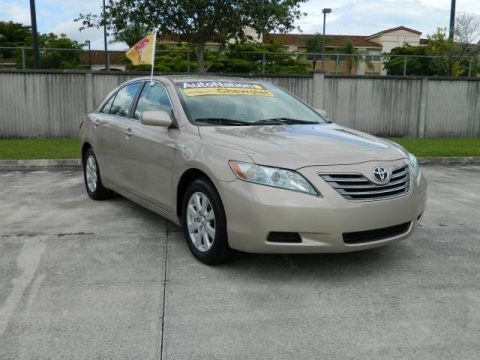 Titanium Metallic 2007 Toyota Camry Hybrid