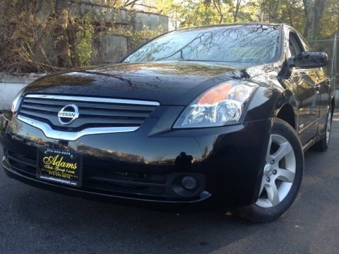 Super Black 2007 Nissan Altima Hybrid