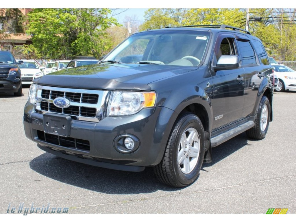 2008 Ford Escape Hybrid 4wd In Black Pearl Slate Metallic