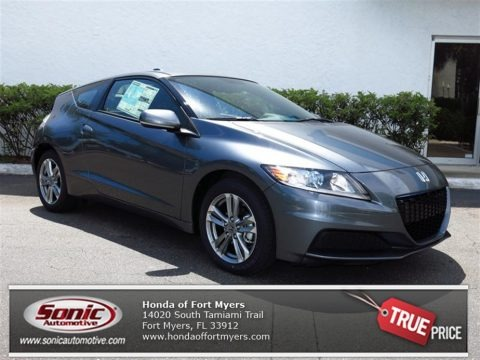 Polished Metal Metallic 2013 Honda CR-Z Sport Hybrid
